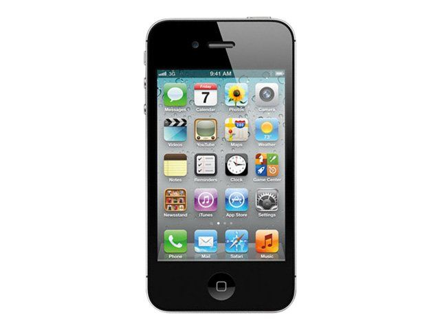 produit Apple iPhone 4S 16 Go Noir