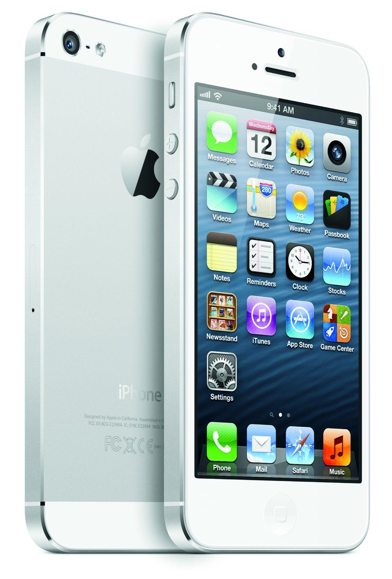 produit Apple iPhone 5 16 Go Blanc et argent