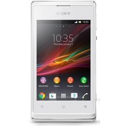 produit Sony - Téléphone portable XPERIA E WHITE