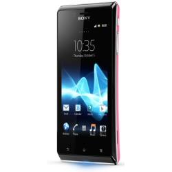 produit Sony - Téléphone portable XPERIA J PINK